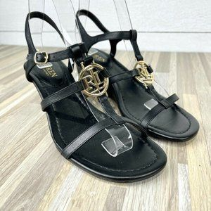 Lauren Ralph Lauren Size 8B Black Sandals